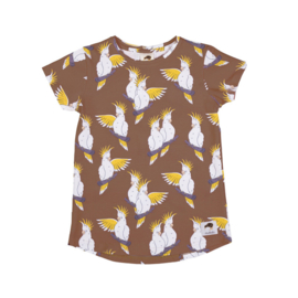 T-shirt Mullido, Cockatoo brown