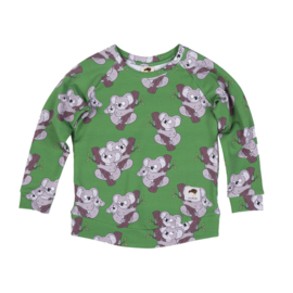 Sweatshirt Mullido, Koala green