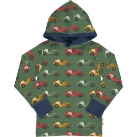 T-shirt long / longsleeve hood Maxomorra, Vintage Race Hood