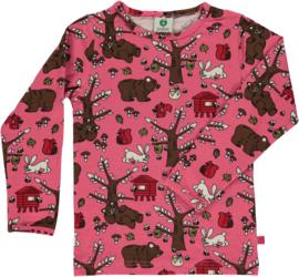T-shirt long Smafolk, Landscape Rapture Rose