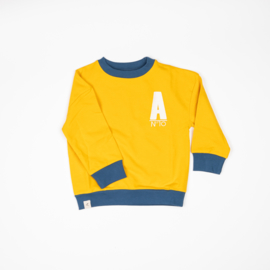 Longsleeve Sweat Albababy, My Favorite Sweat Old Gold