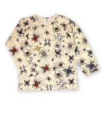 T-shirt long / longsleeve JNY,  Happy spider