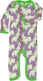 Jumpsuit / bodysuit Smafolk, Rabbit purple 56, 68 of 74