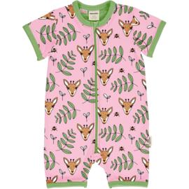 Jumpsuit / shortsuit Meyadey by Maxomorra, Giraffe Garden