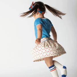 Sokken/ knee socks Albababy, Annie Solidate Blue