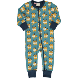 Jumpsuit / Zippersuit Maxomorra, Lively lynx 62-68