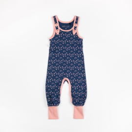 Jumpsuit / playsuit Albababy, Hedashy Crawlers Estate blue Wild flower