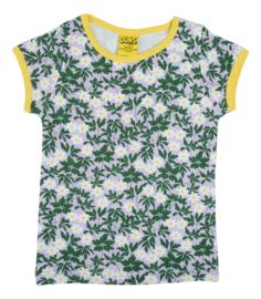 T-shirt DUNS Sweden, Wood Anemone viola