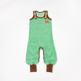 Jumpsuit / playsuit Albababy, Happy Crawlers Light grass