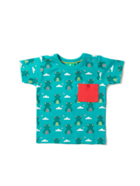 T-shirt Little Green Radicals,  River Frog Blue