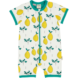 Jumpsuit / shortsuit Meyadey by Maxomorra, Leafy Lemon