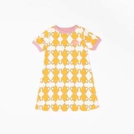 Jurk / Dress Albababy, Vida Dress Beewax teapots