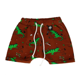 Sweatshort Raspberry Republik, Ignacio the Iguana brown 92-98