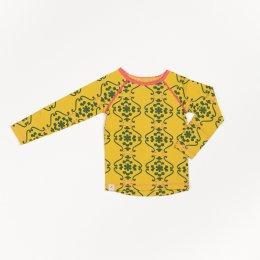 Longsleeve Albababy, Ghita Blouse Ceylon Yellow Nostaltic Flowertiles