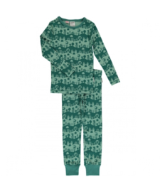 Pyjama Set LS Slim Maxomorra, City Landscape 86-92
