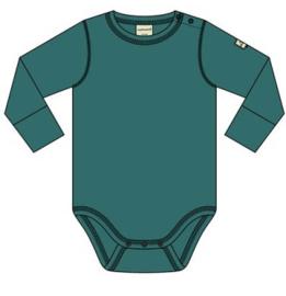 Romper / bodysuit LS Maxomorra, teal