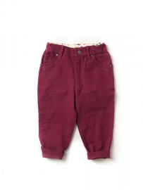 Broek  Little Green Radicals, Berry Corduroy Jeans 104-110/4-5y, 110-1165-6y