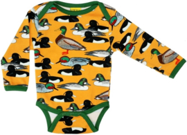 Romper/ Body LS Duns, Duck Pond Mustard