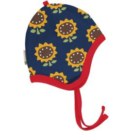 Muts, hat helmet velour Maxomorra, Sunflower