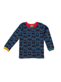 Longsleeve Little Green Radicals, Winter Bear