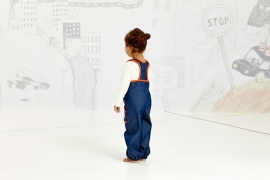 Jumpsuit Albababy, Gy Baggy Crawlers Denim 62 of 68