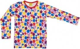 T-shirt Long DUNS Sweden, Dots 80