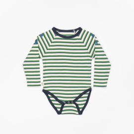 Romper / Body Albababy, Kenya Body Juniper striped