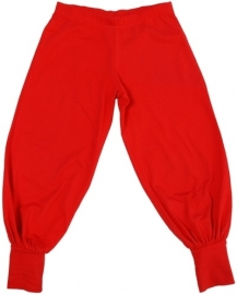 Baggy Pants More than a Fling, Solid Red 62-68