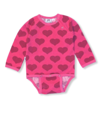 Romper / Body LS JNY, Heart