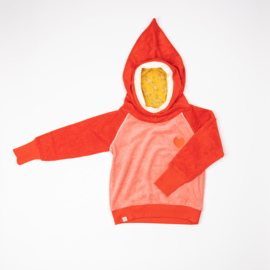 Hoody Albababy, Habian Hood Blouse Spicy Orange
