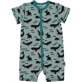 Jumpsuit / shortsuit Maxomorra,Whale Ocean