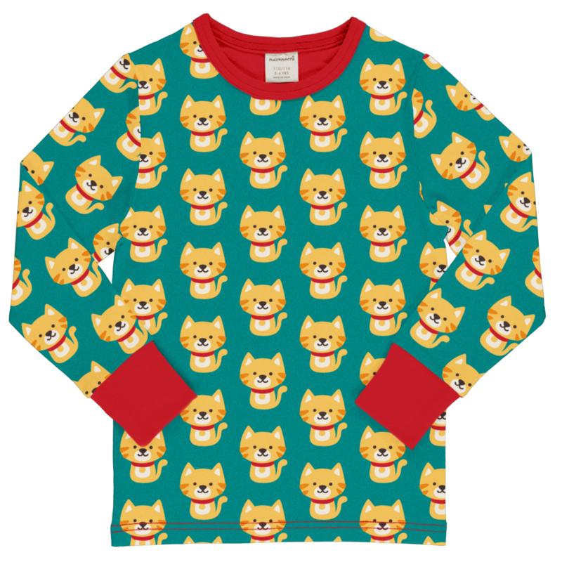 T-shirt long / longsleeve by Maxomorra, Cat