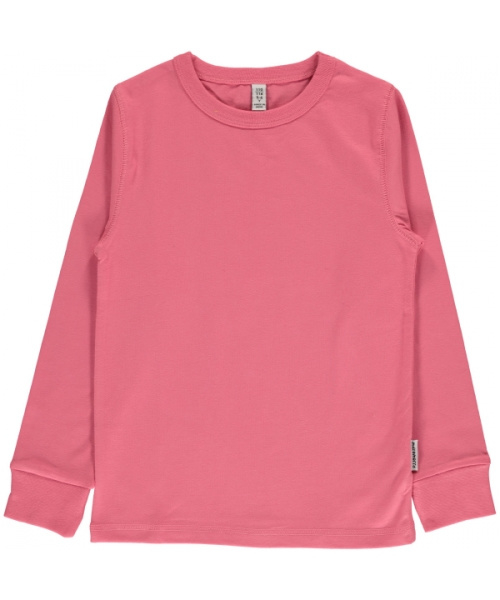 T-shirt long / longsleeve Maxomorra, Rose Pink
