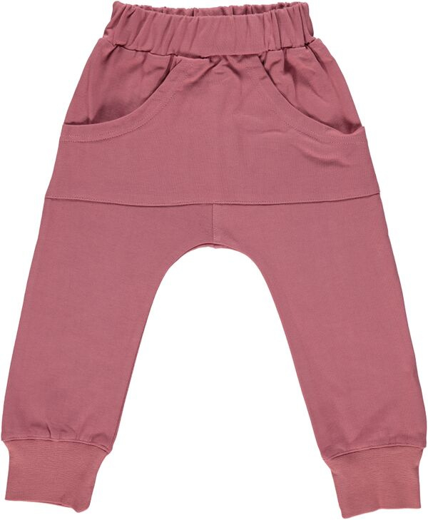 Pants Smafolk, Pants basic mesa rose 1-2yr of 3-4yr