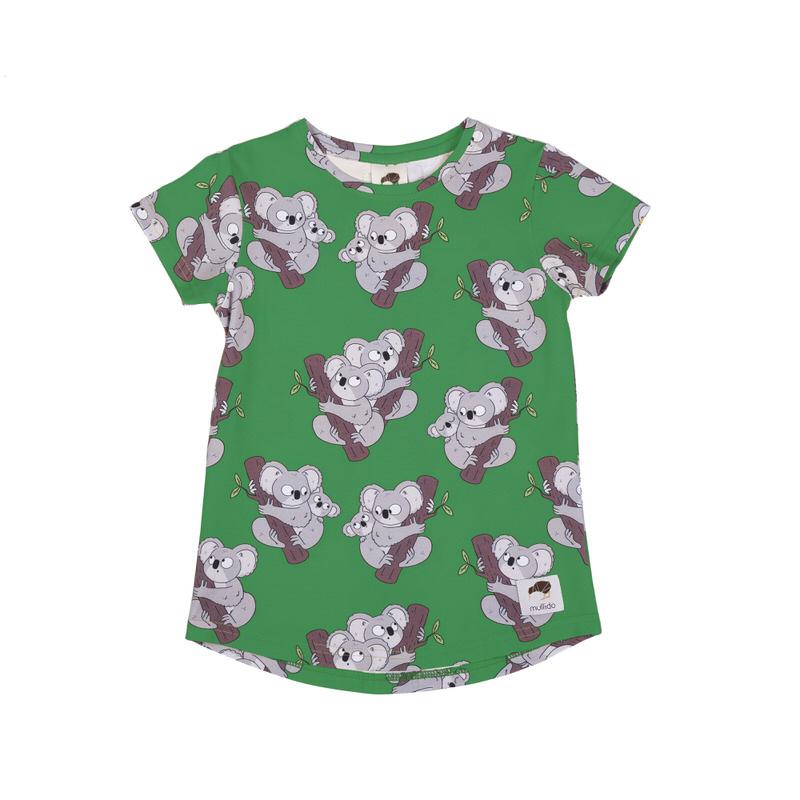 T-shirt Mullido, Koala green