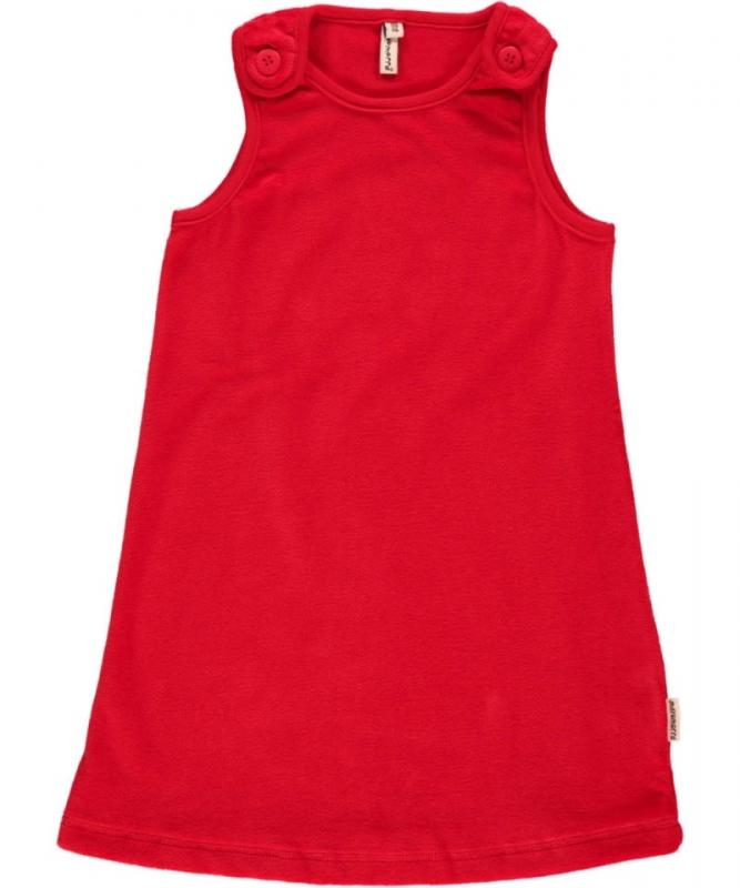 Jurk / Dress Maxomorra, Velour red 68 of 74