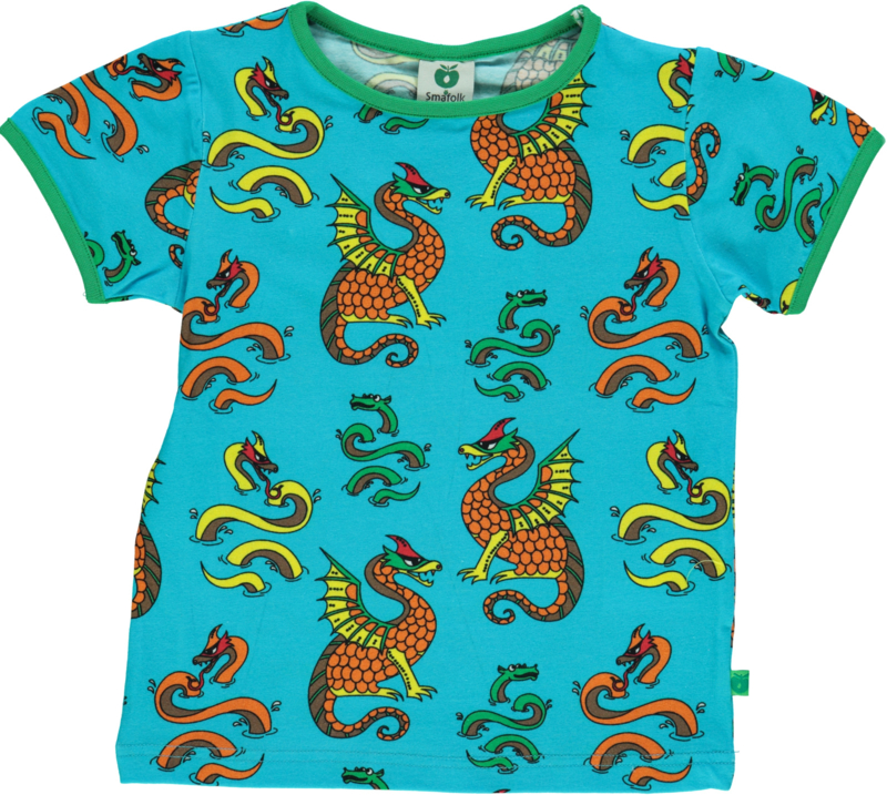 T-shirt  Smafolk, Dragon blue atoll