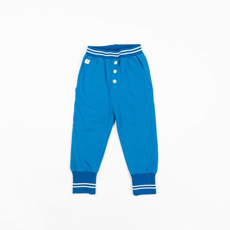 Broek Albababy, Hai Button Pants Snorkel blue