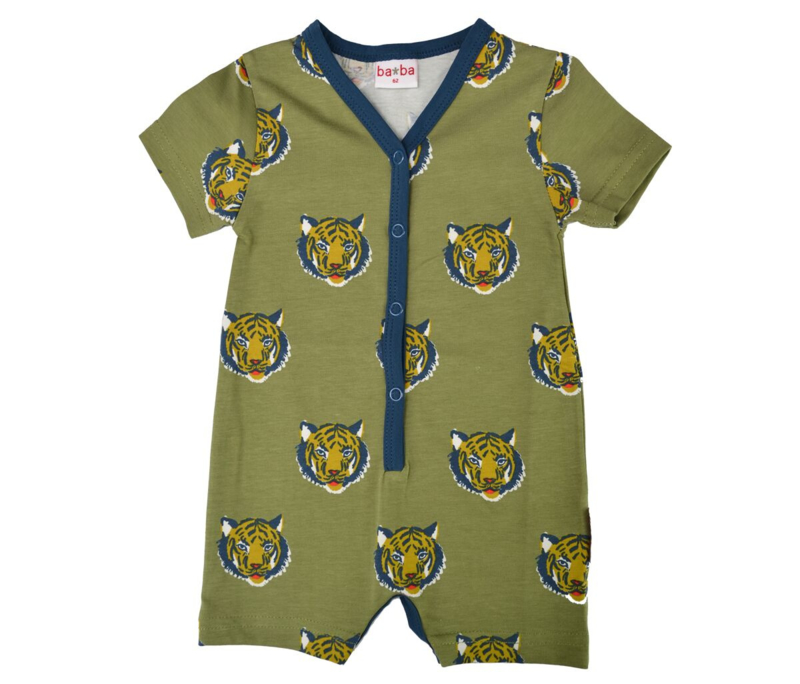Shortsuit/ summersuit Ba*Ba, v-neck Tiger