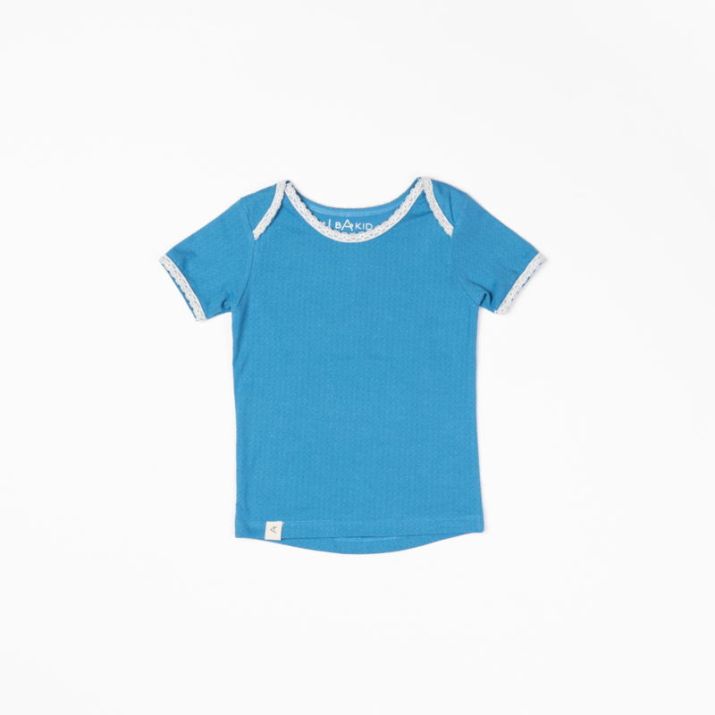 T-shirt Albababy, Vera Vallarta blue Adorable