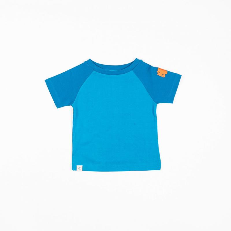T-shirt Albababy, Sigurd Mykonos Blue