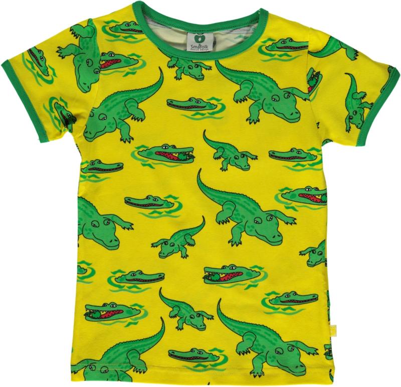 T-shirt  Smafolk, Crocodile yellow 92-98, 98-104 of 104-110