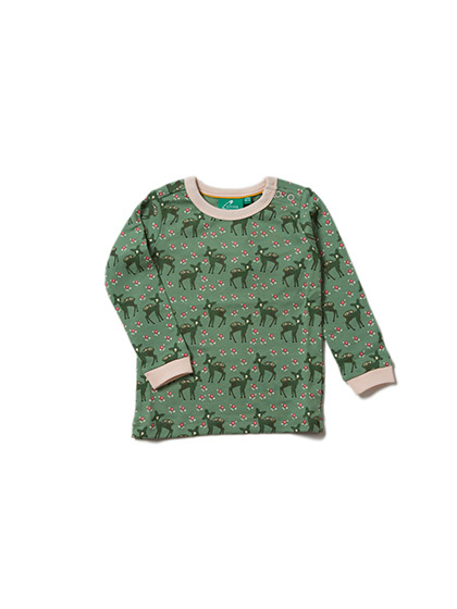Longsleeve Little Green Radicals, Forest Doe