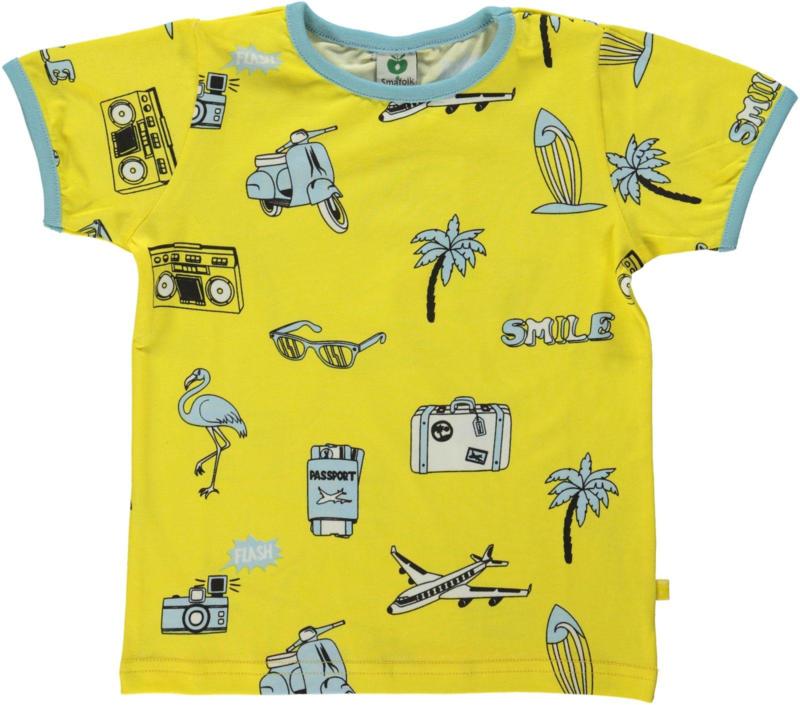 T-shirt  Smafolk, Travel theme Maize