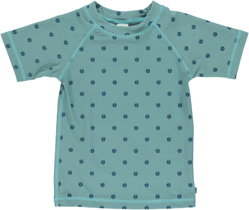 UV swimshirt Smafolk, Apples Stone Blue 2-3y