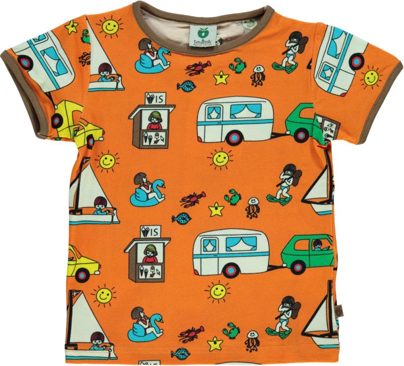 T-shirt  Smafolk, Beach Orange