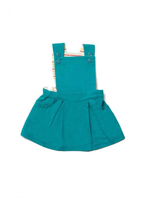 Dress, overgooier Little Green Radicals, Emerald Pinafore