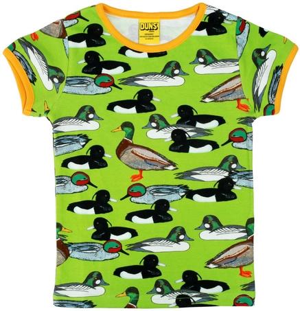 T-shirt DUNS Sweden, Duck pond flash green