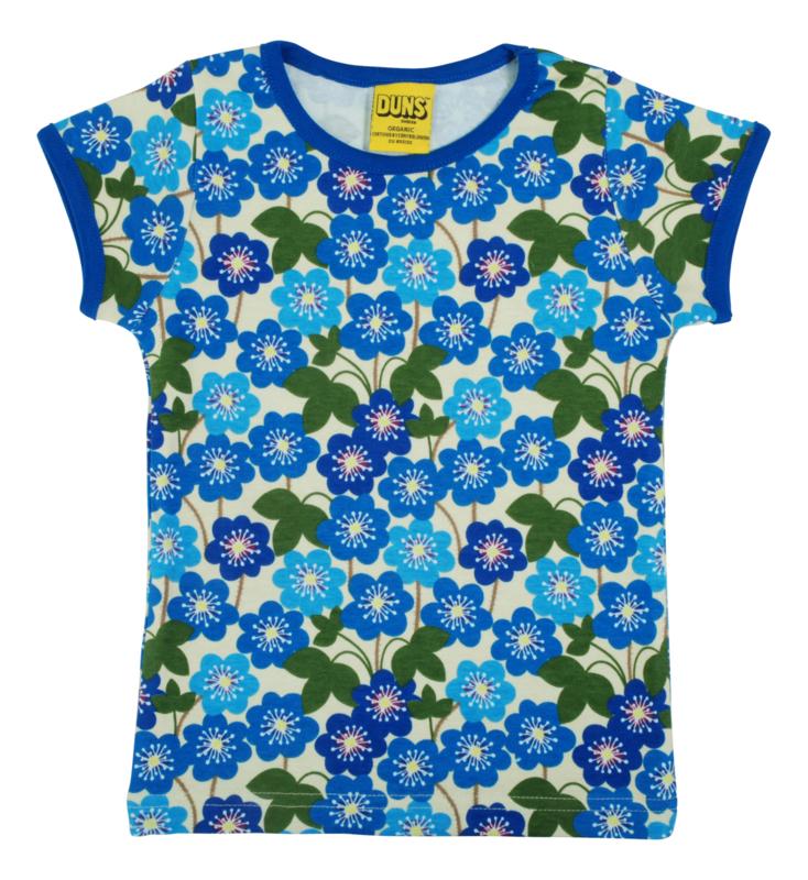 T-shirt , shortsleeve Ladies Duns Sweden, Hepatica Nobilis Ladies S or XL