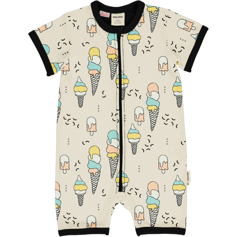 Jumpsuit / shortsuit Meyaday by Maxomorra, Ice cream confetti
